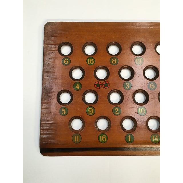 Image of 1938 Keeno Star Reversible Gaming Board