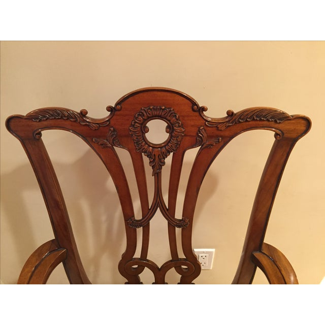 Chippendale Side Armchairs- A Pair - Image 7 of 7