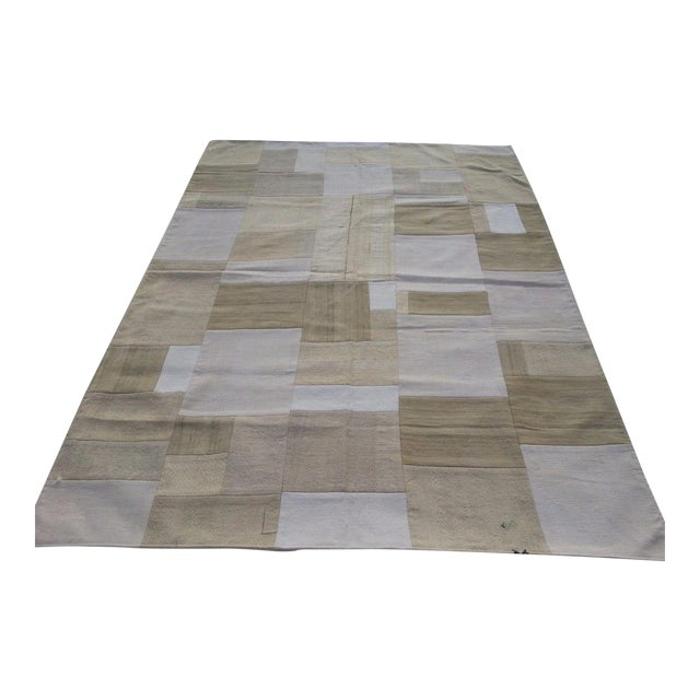 """Bohemian Patchwork Rug -- 5'6"""" x 7'6"""" - Image 1 of 6"""