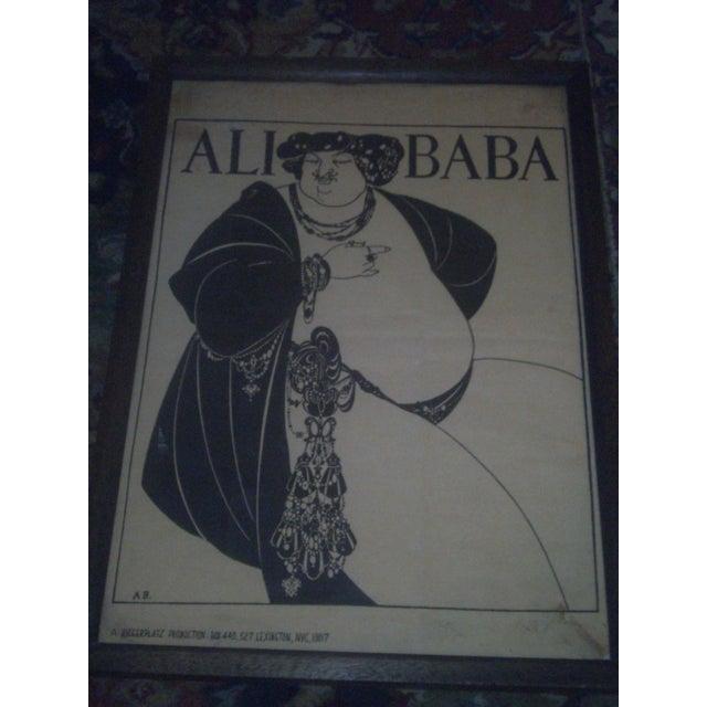"""Aubrey Beardsley """"Ali Baba"""" Print - Image 3 of 8"""