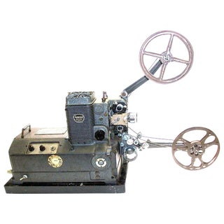 Deco Ampro Film Projector Used By The US Navy. Circa 1940. For Display As Sculpture.