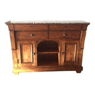 Kincaid Portolone Sideboard With Marble Top