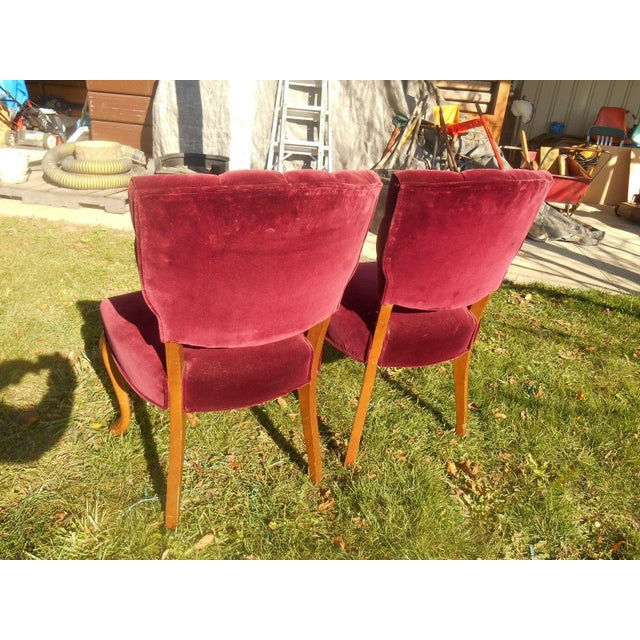 French Fireside Dining Chairs - A Pair - Image 7 of 8