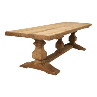French Trestle Antique Dining Table