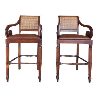 Bauer International Bar Stools - Pair