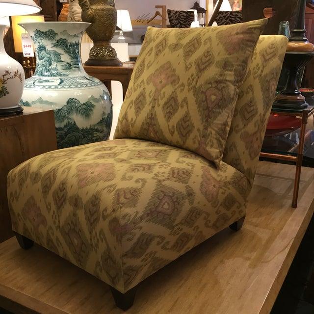 Donghia Villa Custom Ikat Chair - Image 11 of 11