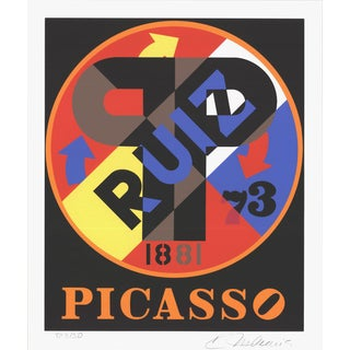1997 Robert Indiana Picasso Serigraph
