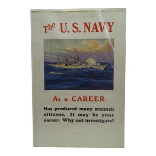 C. 1930 U.S. Navy Recruiting Poster