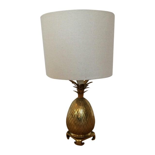 Brass Pineapple Lamp - Image 1 of 7