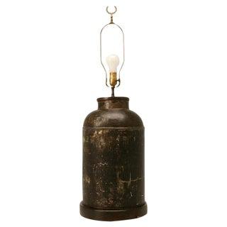 Reagan Ranch Antique English Tea Tin Lamp