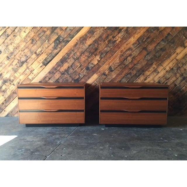 Mid-Century Dressers by John Kapel - Pair - Image 2 of 7