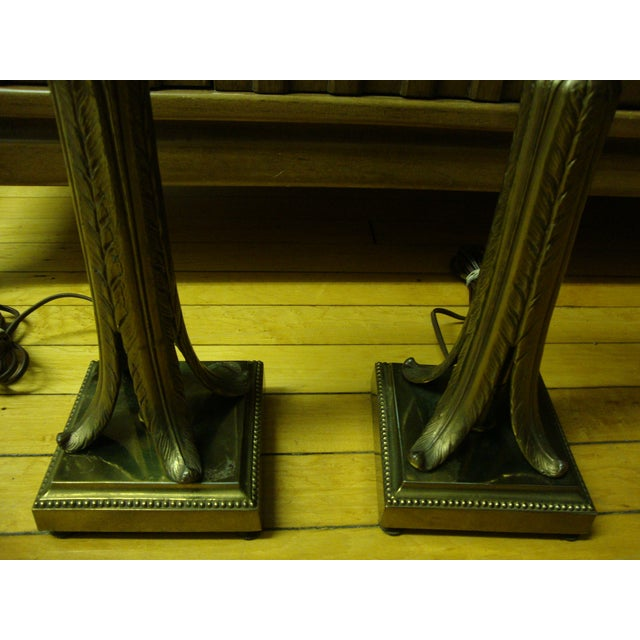 Image of Hollywood Regency Lamps - Pair