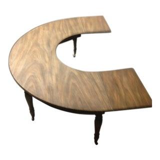 Kittrnger Half Round Butler Table