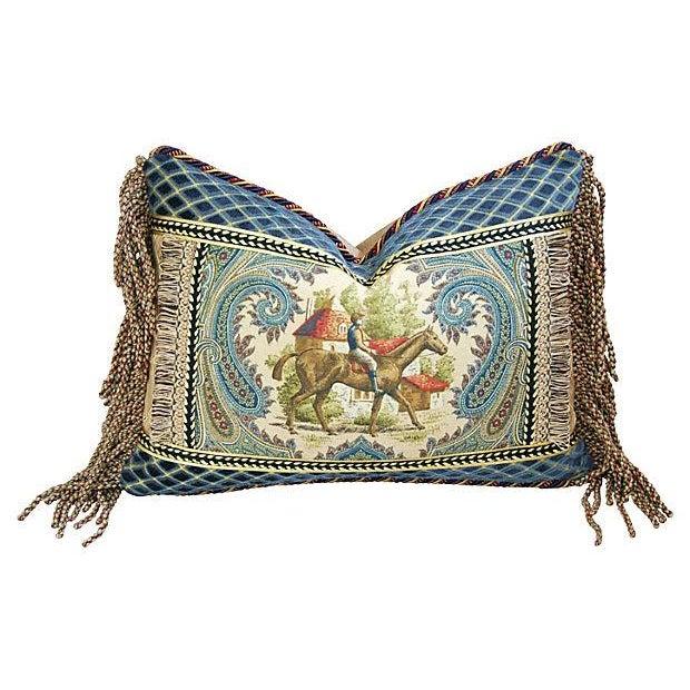 Custom Kaufmann Equinox Equestrian Pillow - Image 1 of 4