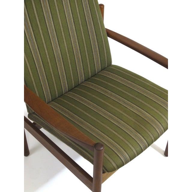 Mid-Century Danish Teak High-Back Lounge Chair - Image 9 of 9