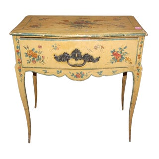 18th c. Painted Italian Table