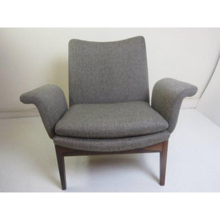 Finn Juhl Easy Chair for France and Sons in Rosewood and Fabric