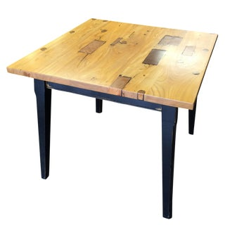 Rustic Two-Toned Dinette Table