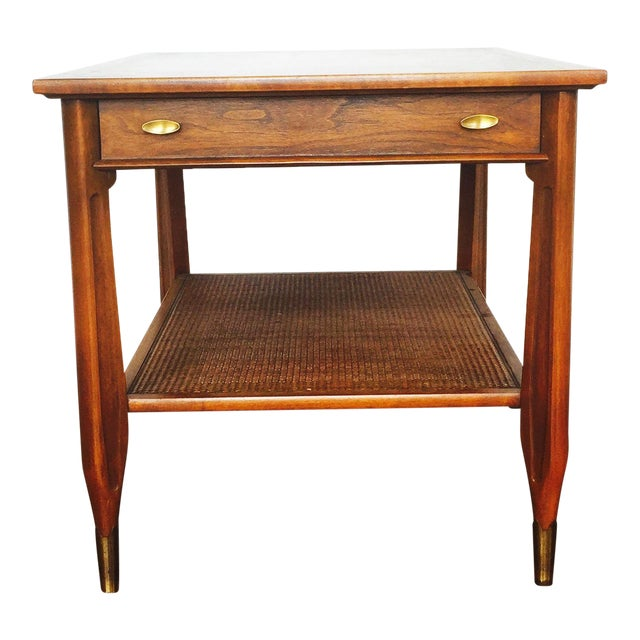 Imperial Mid-Century Wood Side Table - Image 1 of 7