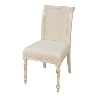 Sarreid Ltd Flax White Dining Chairs- Set of 6