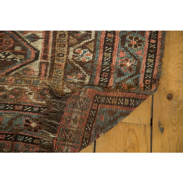 "Antique Kamseh Rug - 4'6"" x 6'8"" - Image 7 of 10"