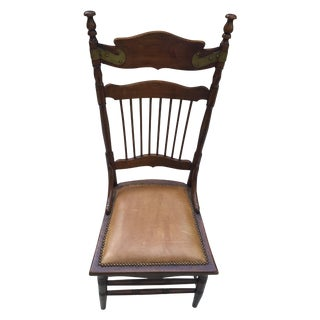 Continental Antique High Back Chairs - Set of 6