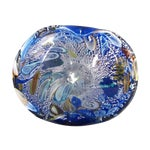 Image of Blue Murano Glass Bowl