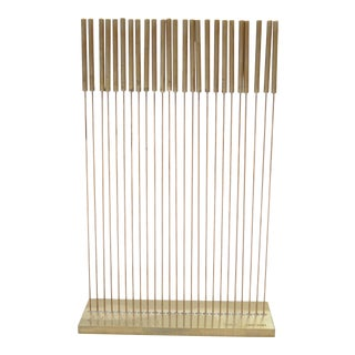 Limited Edition Signed Harry Bertoia Table Tonal II Sculpture