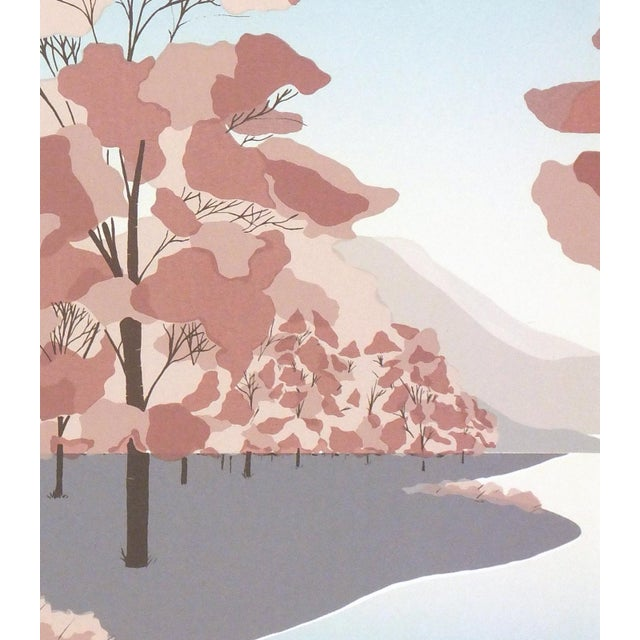 Woodlands Landscape Serigraph - Image 2 of 4