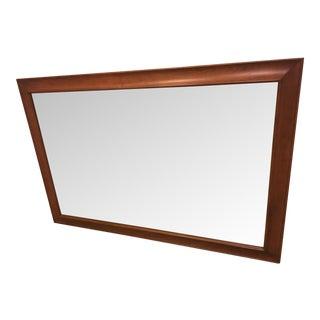 Stickley Cherry Framed Mirror