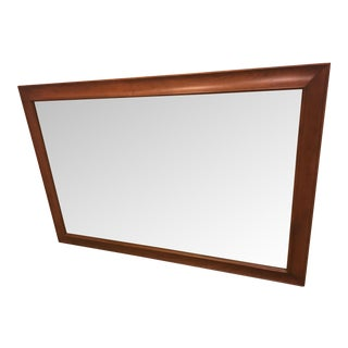 Stickley Cherry Framed Mirror
