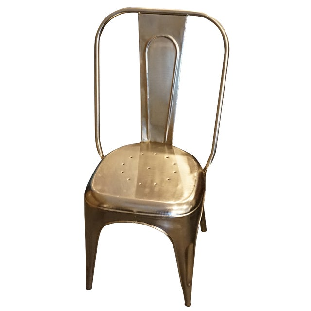 Vintage Style Metal Chair - Image 1 of 4