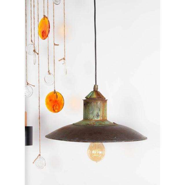 Danish Copper Pendant Lamp - Image 6 of 6