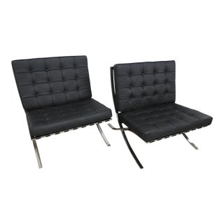 Modern Barcelona Chairs - a Pair