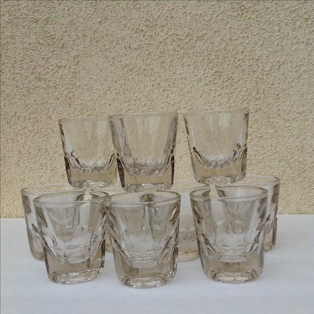 Vintage Rocks Glasses - Set of 10 - Image 4 of 11