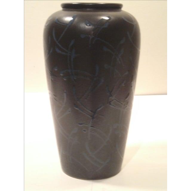 Scheurich Kera Large Mocha Vase - Image 3 of 8