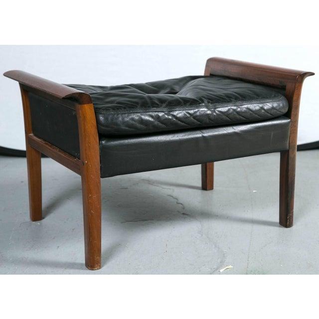 Danish Mid Century Modern Lounge Chair And Ottoman Chairish