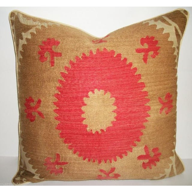 Image of Vintage Suzani Bolinpush Accent Pillow III