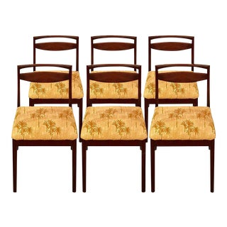 Mid-Century Modern AH McIntosh Rosewood Dining Chairs - Set of 6