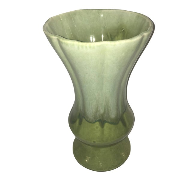 Green Glazed Vase - Image 2 of 3
