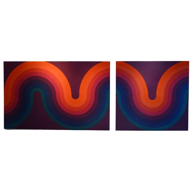 Verner Panton Large Panels - Pair - Image 1 of 6
