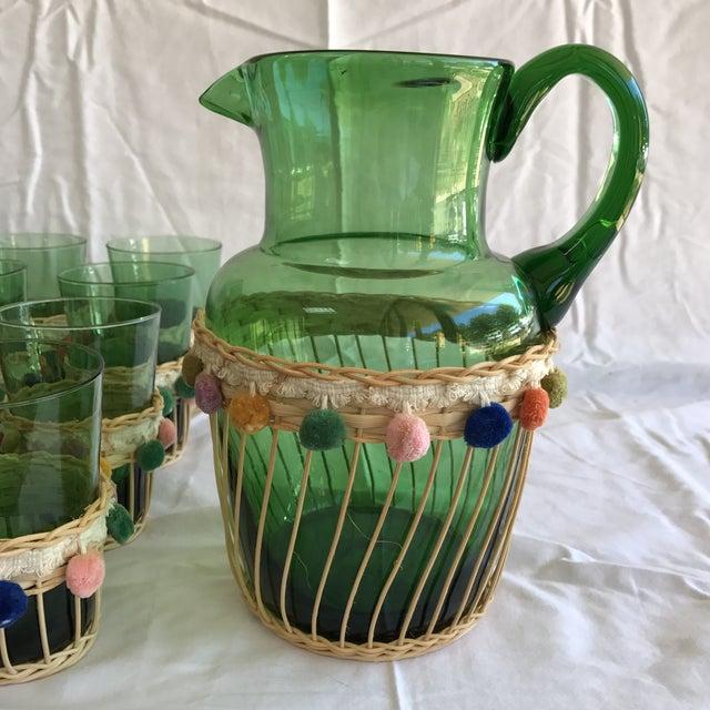 Fiesta Green Glass Beverage Set - Set of 13 - Image 3 of 6