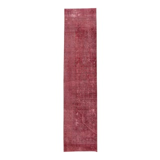 "Apadana - Vintage Overdyed Rug, 2'4"" x 10'2"""