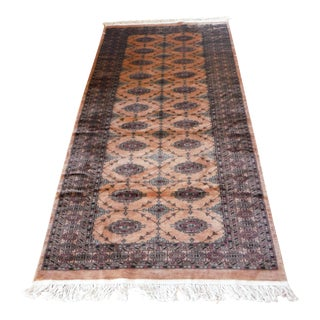 Knotted Persian Oriental Rug - 3′5″ × 8′2″