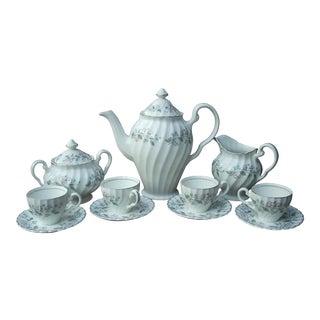 Johnson Brothers Porcelain Tea Set - Service for 4