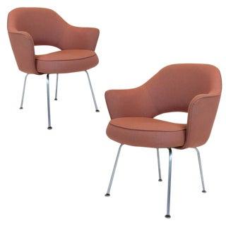 Pair of Eero Saarinen Series 71 Armchairs for Knoll