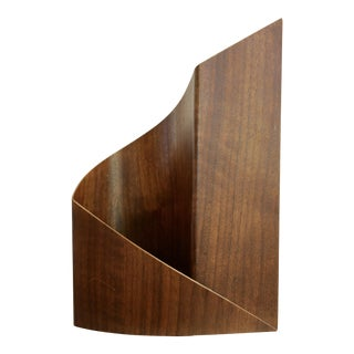 Schleeh Design Walnut Bentwood Sculptural Vessel