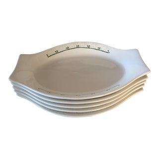 Elephant Restaurant Ware Plates - Set of 5