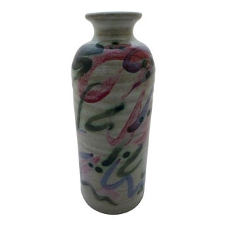 T. Puterbaugh Gill Studio Pottery Vase