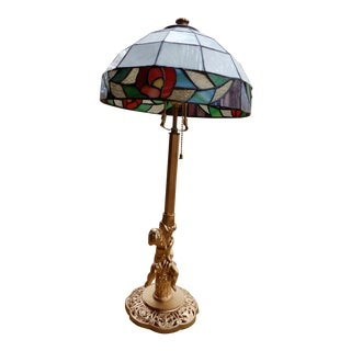Tiffany Style Stained Glass Lamp Shade Table Lamp
